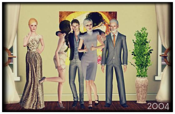 The last family picture of the Mellarks of Sunset Valley. From left to right: Camille; Annabelle; Riggo; Sophia; and Joseph Mellark