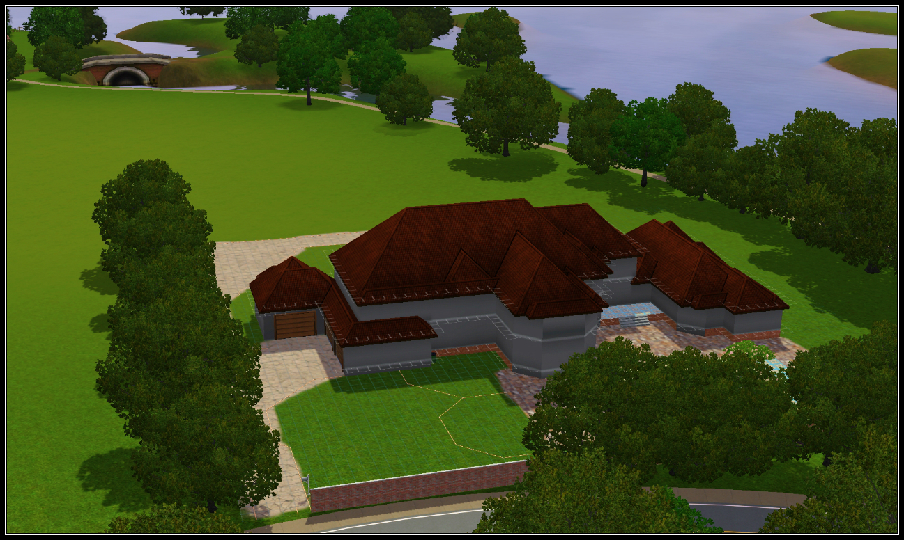 how to build a two story house in sims 3