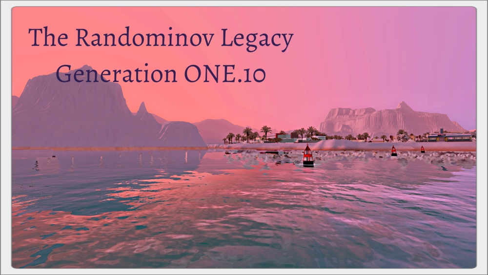 The Randominov Legacy 1.10 - End of Generation One (1/6)