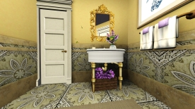 Bathroom for the guests