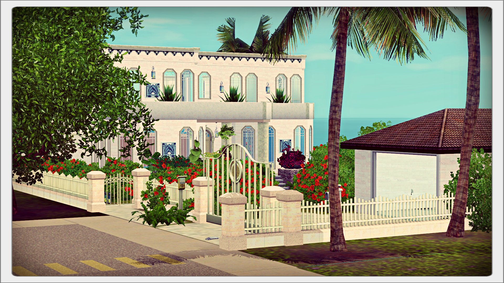 Art Deco House for download sims 3   Thornheartssims